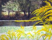June Holwell - Springtime on Mystic...