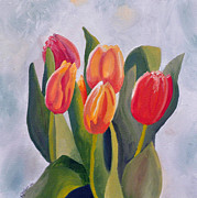 Amy Rundle - Springtime Tulips