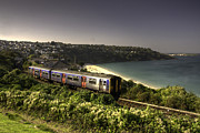 First-class Posters - Sprinter at Carbis Bay Poster by Rob Hawkins