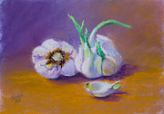 Pastel Paintings - Sprouts by Jo Castillo