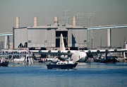 Spruce Goose Photos - Spruce Goose Emerges From Hangar October 29 1980 by Brian Lockett