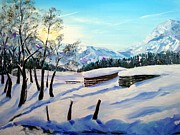 Himmel Originals - Spuren im Schnee by Karin Mueller