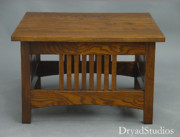 Coffee Table Sculptures - Square Spindle coffe table in ash  by Dryad Studios