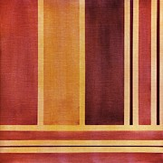 Square With Lines 2 Print by Hakon Soreide