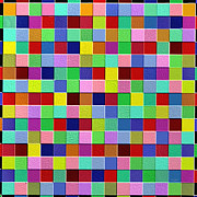 Abstracts Digital Art - Squares by Ely Arsha
