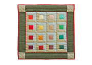 England Tapestries - Textiles - Squares Mini by Deborah King