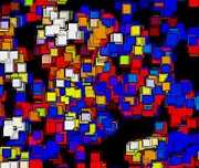 Selection Digital Art - Squares Selection Number 2 by Rod Saavedra-Ferrere