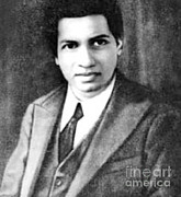 Self-portrait Photos - Srinivasa Iyengar  Ramanujan, Indian by Science Source