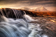 Rannoch Photo Prints - Sron na Creise from Rannoch Moor Print by David Mould