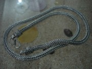 Bali Twisted Chain Jewelry - SS Original Dragon Bone 6mm with S-Clasp by fmnjewel - Fernando Situmeang