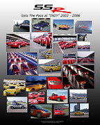 Number 24 Posters - SSR Sets The Pace 2003-2006 Poster by Howard Kirchenbauer