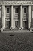 Church Pillars Art - St Andrews Church NYC by Robert Ullmann