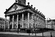 Glasgow City Centre Scotland Prints - St Andrews In The Square Glasgow Scotland Uk Print by Joe Fox