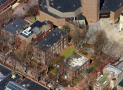 Aerials - St Anthony Hall and St Elmo Fraternity Houses University of Pennsylvania by Duncan Pearson
