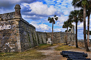 Chiricahua Apache Posters - St Augustine Florida Fort Poster by Kenny Francis