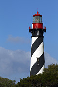 Florida House Photos - St. Augustine Light House by Richard Mann