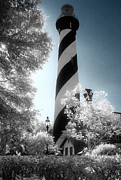Jeff Holbrook Metal Prints - St. Augustine Lighthouse Metal Print by Jeff Holbrook
