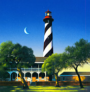 St Augustine Print by MGL Studio - Chris Hiett