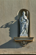 Saint Christopher Photos - St. Augustine of Hippo by Christopher Holmes