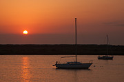 Boats Photos - St. Augustine Sunrise by Clarence Holmes