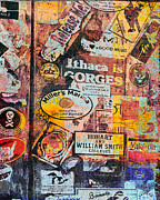 Release Digital Art Prints - St. Barts Sticker Wall Print by Susan Stone