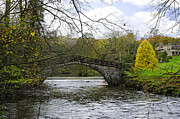 England Acrylic Prints - St Bertrams Bridge - Ilam Acrylic Print by Rod Johnson