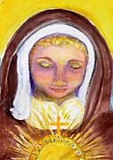 St. Clare Print by Susan  Clark