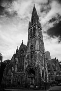Listed Building Framed Prints - St Columba Church Of Scotland St Vincent Street Glasgow Scotland Uk Framed Print by Joe Fox