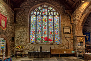 Parish Church Framed Prints - St Dyfnog Framed Print by Adrian Evans