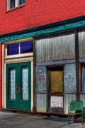 Storefront  Art - St. Elmos Inn - Palouse by David Patterson