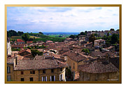 Zinfandel Framed Prints - St. Emilion View Framed Print by Joan  Minchak