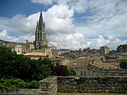 Wine Cellar Photos - St Emilion village by Dany Lison