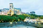 Aquitaine Metal Prints - St. Eugene Church, Biarritz, Aquitaine, France Metal Print by John Harper