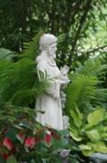 Diane Merkle - St. Francis In the Garden