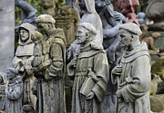Francis Prints - St Francis Statues Print by John Greim