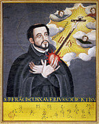 Francis Posters - St. Francis Xavier Poster by Granger