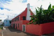 Colonial Architecture Photos - St George Street View Bermuda by George Oze