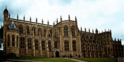Medieval Castle Photos - St Georges Chapel at Windsor Castle by Lisa Knechtel