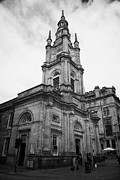 Tron Prints - St Georges-tron Church Nelson Mandela Place Glasgow Scotland Uk Print by Joe Fox