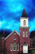 Mt. Airy Framed Prints - St James Mt Airy Md Framed Print by Darlene Freas