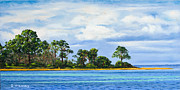 Island Painting Originals - St. Joe by Rick McKinney