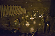 Krakow Prints - St Kingas Chapel - Wieliczka Salt Mine Print by Jon Berghoff