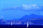 Sailboats In Harbor Photo Framed Prints - St Kitts Sailing Framed Print by Thomas R Fletcher