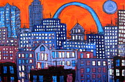 Gateway Paintings - St Louis 03 by Karl Haglund