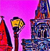 St. Louis Cathedral Abstract Print by John Giardina