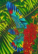 St. Lucia's Bird Of Paradise Print by Daniel Jean-Baptiste