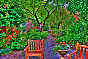 Urban Garden Prints - St. Luke Sanctuary Too Print by Randy Aveille