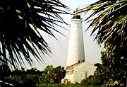 Lighthouse Photographs By Frederic Kohli - St Marks Lighthouse by Frederic Kohli