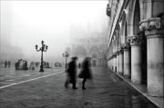 Basilica Photos - St Marks Square by Marion Galt