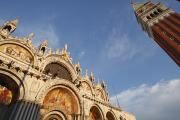 St. Markss Basilica And Campanile Off Print by Trish Punch